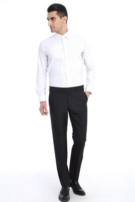 Erkek Giyim - Siyah 68 Beden Klasik Pantolon