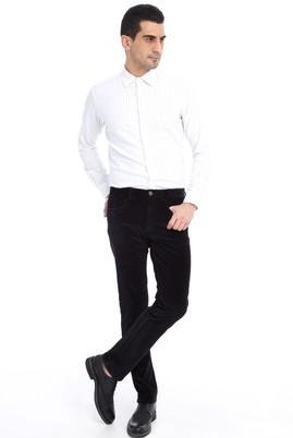 Erkek Giyim - Antrasit 52 Beden Kadife Pantolon