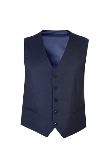 Erkek Giyim - Yelekli Kuşgözü Takım Elbise