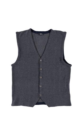 Erkek Giyim - King Size Desenli Yelek