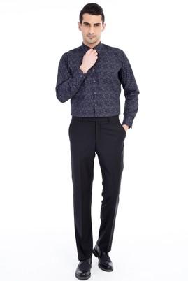 Erkek Giyim - Siyah 54 Beden Slim Fit Pantolon
