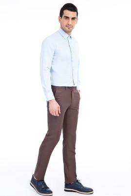 Erkek Giyim - Kahve 62 Beden Klasik Pantolon