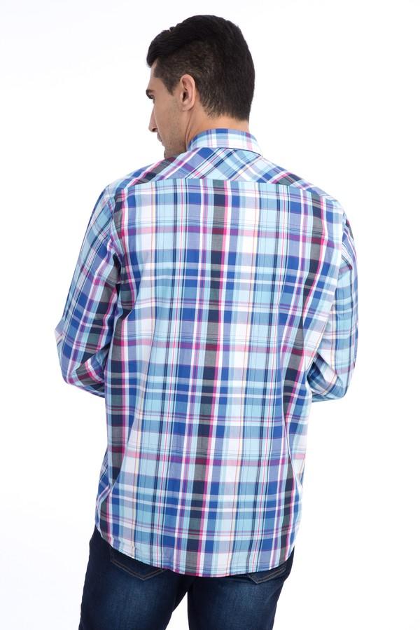 Uzun Kol Ekose Gömlek