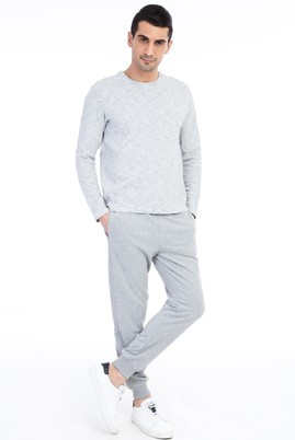 Erkek Giyim - Orta füme XL Beden Spor Sweatpant / Eşofman