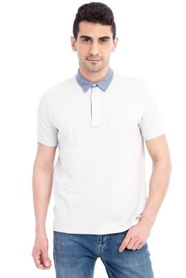 Erkek Giyim - Kum XL Beden Regular Fit Polo Yaka Tişört