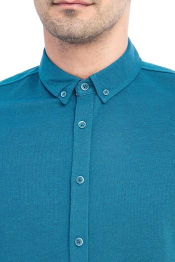 Erkek Giyim - Regular Fit Polo Yaka Tişört / Gömlek