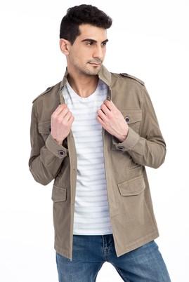 Erkek Giyim - HAKİ 48 Beden Mevsimlik Spor Mont