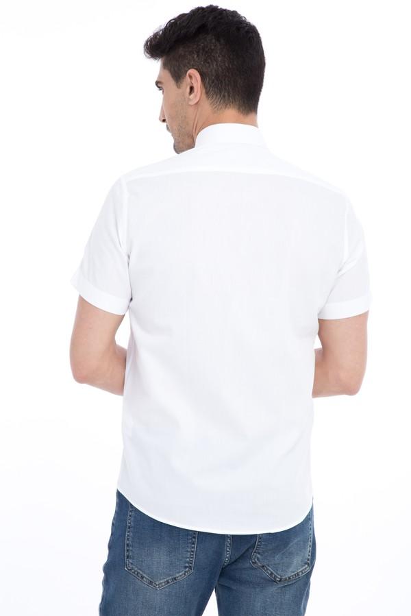 Kısa Kol Slim Fit Gömlek