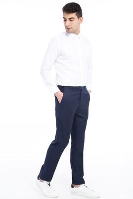 Erkek Giyim - Lacivert 50 Beden Klasik Pantolon