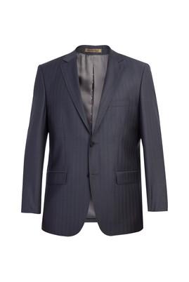 Erkek Giyim - Antrasit 54 Beden İtalyan Balıksırtı Ceket