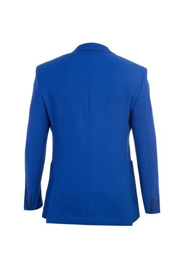 Erkek Giyim - Spor Yün Desenli Ceket