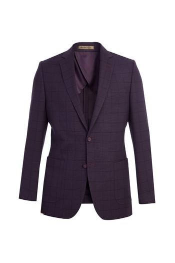 Erkek Giyim - İtalyan Kareli Ceket