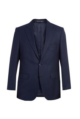 Erkek Giyim - Lacivert 54 Beden Klasik Kuşgözü Ceket