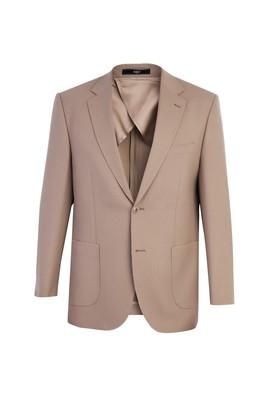 Erkek Giyim - Bej 54 Beden Kuşgözü Ceket