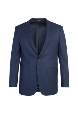 Erkek Giyim - KOYU MAVİ 48 Beden Kuşgözü Ceket