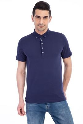 Erkek Giyim - Lacivert XL Beden Iceberg Polo Yaka Tişört