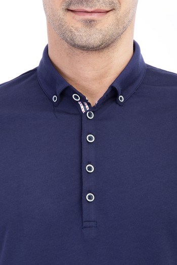 Erkek Giyim - Iceberg Polo Yaka Regular Fit Tişört