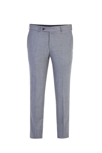 Erkek Giyim - İtalyan Yün Flanel Pantolon