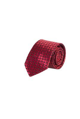 Erkek Giyim -   Beden Desenli İnce Kravat