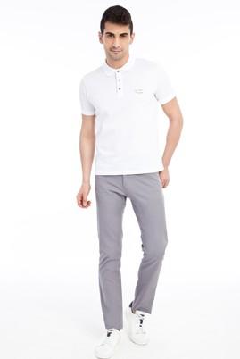 Erkek Giyim - Açık Gri 56 Beden Slim Fit Spor Pantolon
