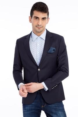 Erkek Giyim - Lacivert 50 Beden Blazer Ceket