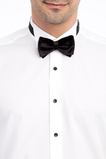 Erkek Giyim - Ata Yaka Klasik Tencel Gömlek