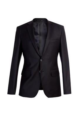 Erkek Giyim - Siyah 48 Beden Slim Fit Blazer Ceket