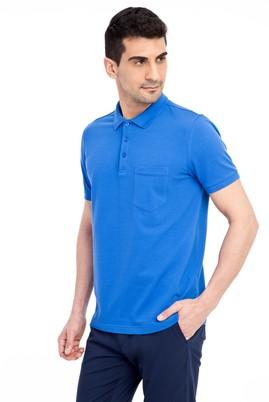 Erkek Giyim - KOYU MAVİ S Beden Regular Fit Polo Yaka Tişört