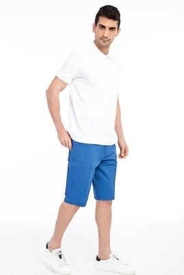 Erkek Giyim - Turkuaz 52 Beden Spor Bermuda Şort