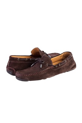 Erkek Giyim - Kahve 41 Beden Süet Loafer Ayakkabı
