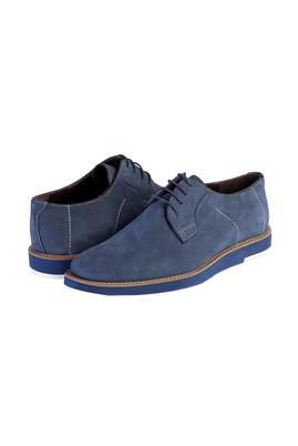 Erkek Giyim - Lacivert 40 Beden Bağcıklı Casual Ayakkabı