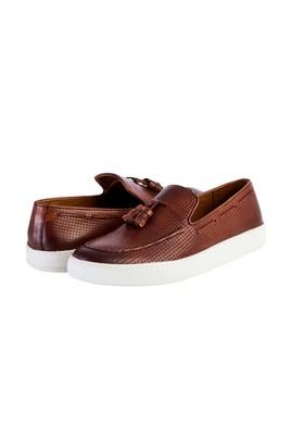 Erkek Giyim - TABA 42 Beden Püsküllü Slip On Ayakkabı