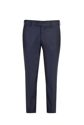 Erkek Giyim - FÜME GRİ 46 Beden Slim Fit Klasik Pantolon