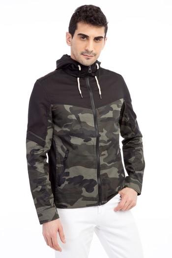 Erkek Giyim - Kapüşonlu Mont