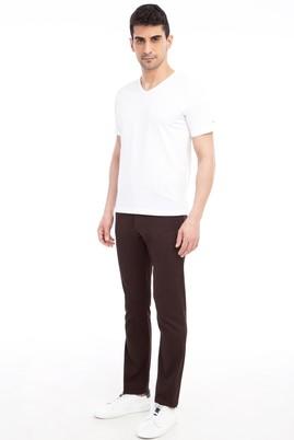 Erkek Giyim - KOYU KAHVE 52 Beden Spor Pantolon