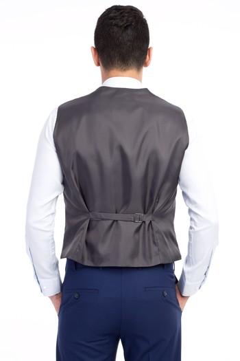 Erkek Giyim - Klasik Çizgili Yelek