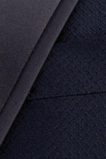 Erkek Giyim - Slim Fit Sivri Yaka Desenli Smokin / Damatlık