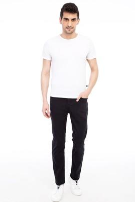 Erkek Giyim - Siyah 54 Beden Denim Pantolon