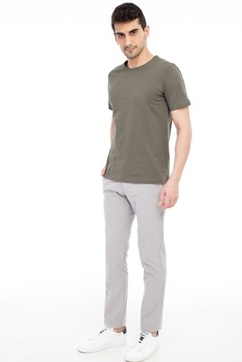 Erkek Giyim - Kum 50 Beden Desenli Spor Pantolon
