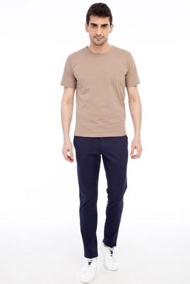 Erkek Giyim - KOYU MAVİ 54 Beden Slim Fit Spor Pantolon