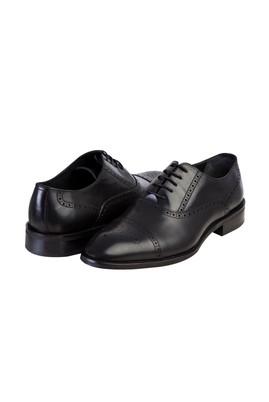 Erkek Giyim - Siyah 41 Beden Bağcıklı Klasik Ayakkabı