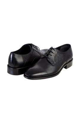 Erkek Giyim - Siyah 42 Beden Bağcıklı Klasik Ayakkabı