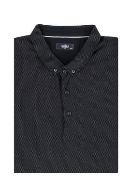 Erkek Giyim - Beyaz 7X Beden King Size İtalyan Polo Yaka Tişört