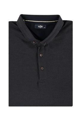 Erkek Giyim - VİZON 4X Beden King Size İtalyan Polo Yaka Tişört