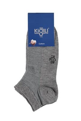Erkek Giyim - Füme Gri 42 Beden 2'li Spor Çorap