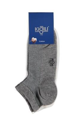 Erkek Giyim - Beyaz 42 Beden 2'li Spor Çorap