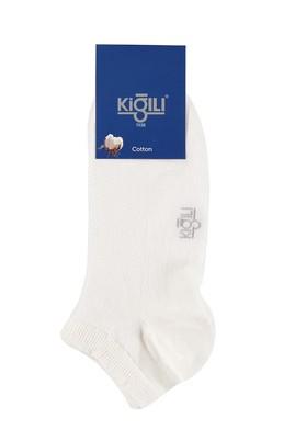 Erkek Giyim - Beyaz 39 Beden 2'li Spor Çorap