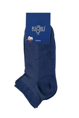 Erkek Giyim - Açık Mavi 39 Beden 2'li Spor Çorap