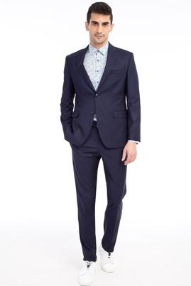 Erkek Giyim - LACİVERT 62 Beden Regular Fit Takım Elbise