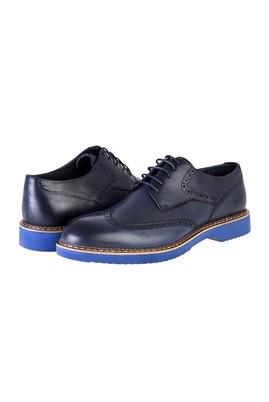 Erkek Giyim - Lacivert 43 Beden Bağcıklı Casual Ayakkabı
